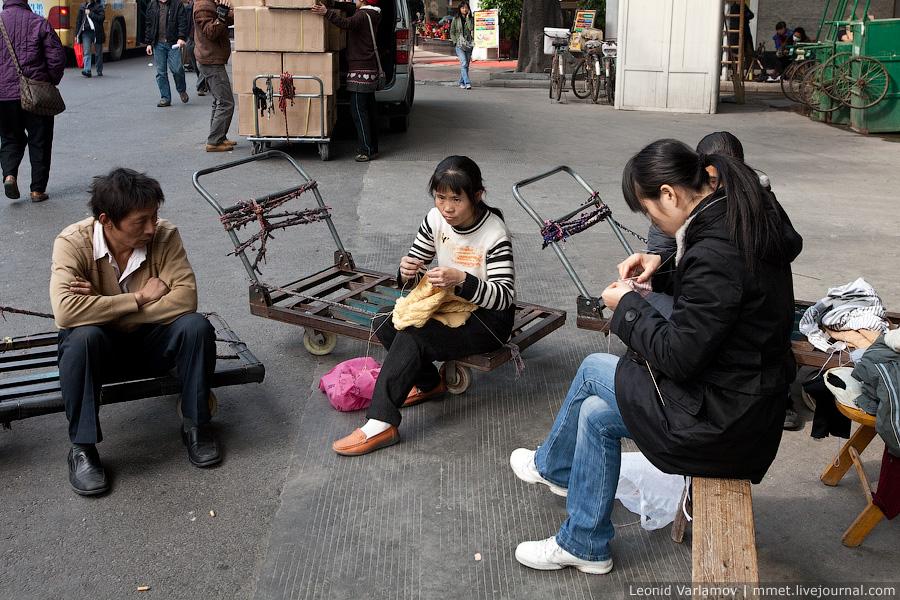 Трущобы Гуанчжоу, Китай.