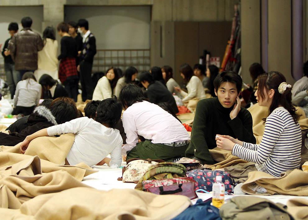 2511 tsunami dan konsekuensi lain dari gempa di Jepang