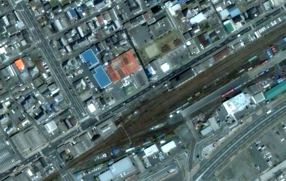 2512 Снимки со спутника: До и после землетрясения в Японии