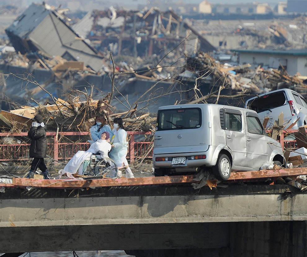2519 Последствия землетрясения и цунами в Японии