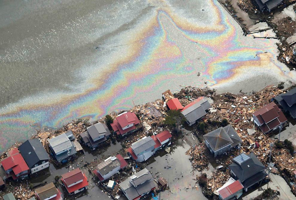 2618 Последствия землетрясения и цунами в Японии