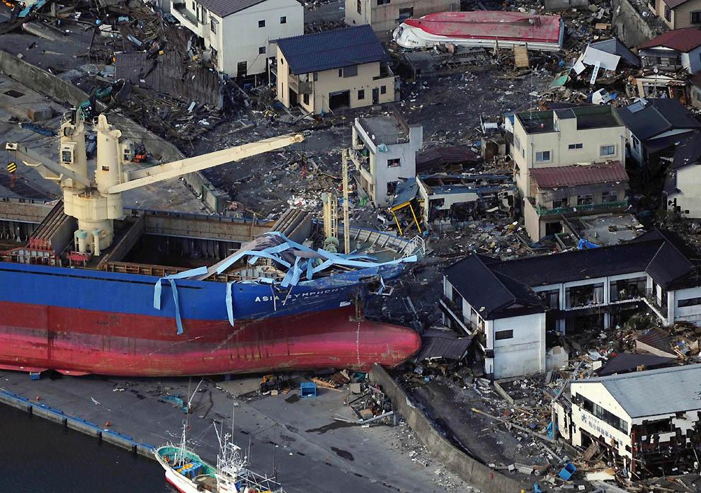 2716 Последствия землетрясения и цунами в Японии