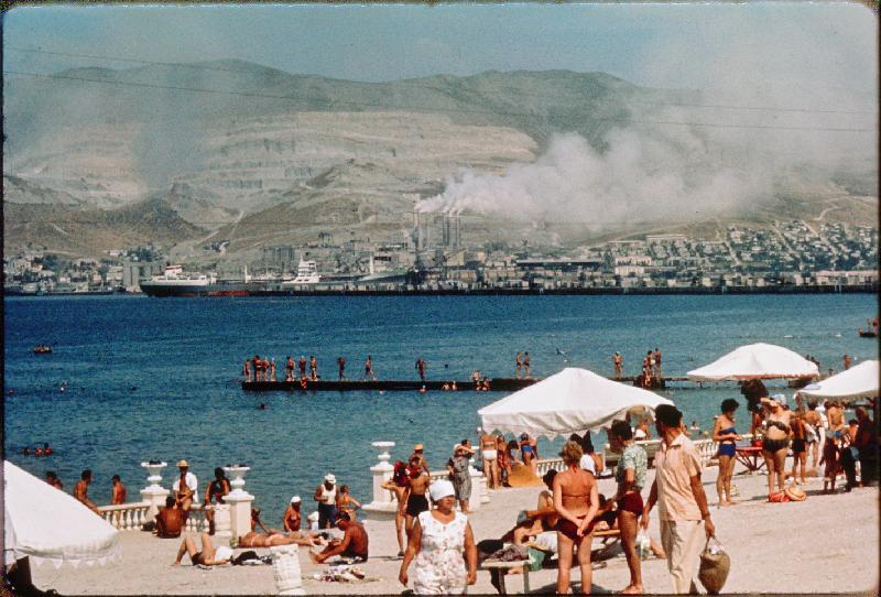 Француз на Кавказе 60-х.на