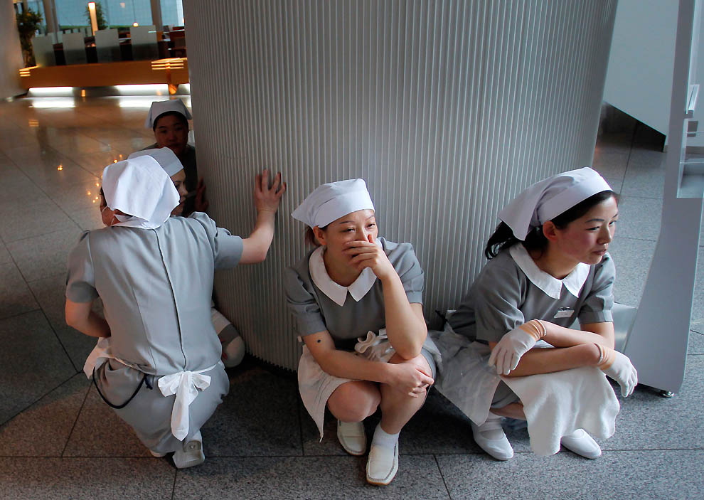278 tsunami dan konsekuensi lain dari gempa di Jepang