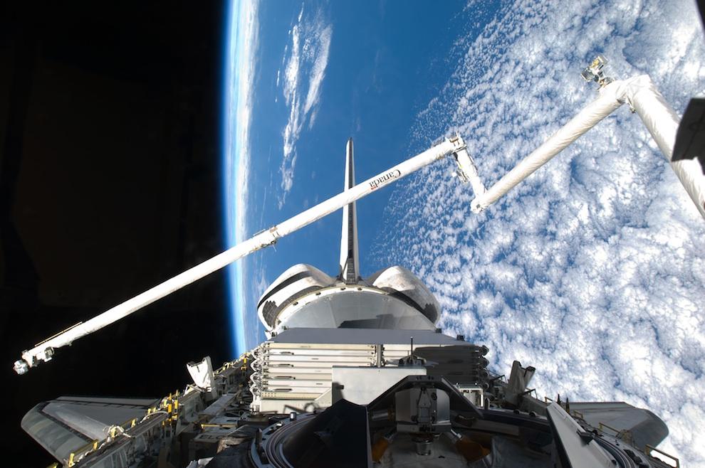 2819 Выход в открытый космос: Голубое небо под ногами