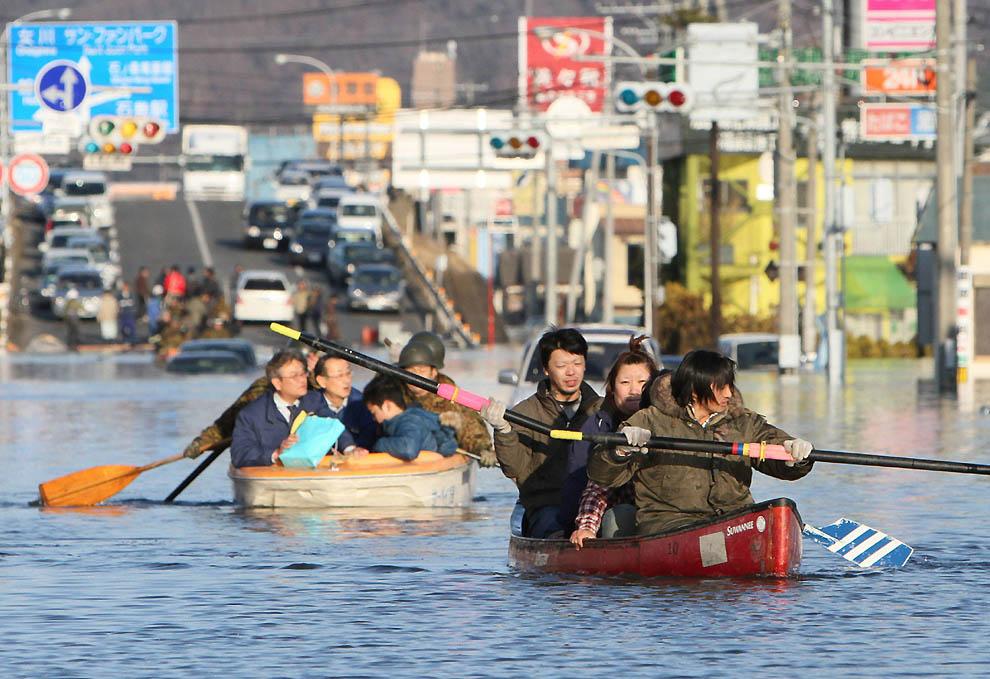 2916 Последствия землетрясения и цунами в Японии