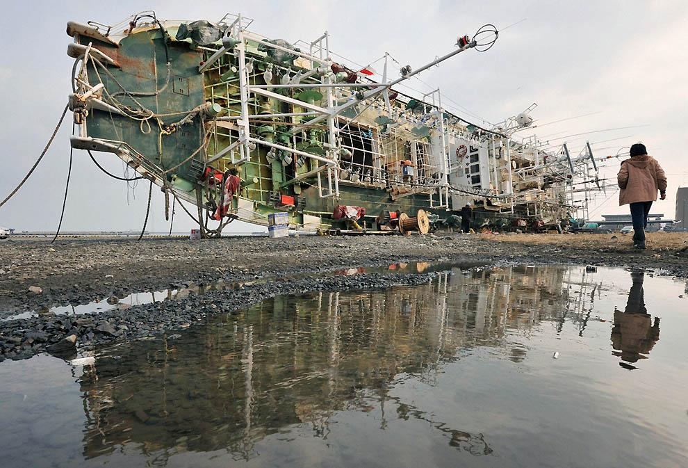 3014 Последствия землетрясения и цунами в Японии