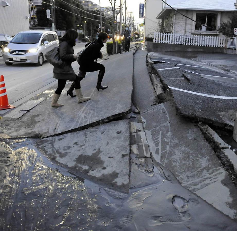 355 tsunami dan konsekuensi lain dari gempa di Jepang
