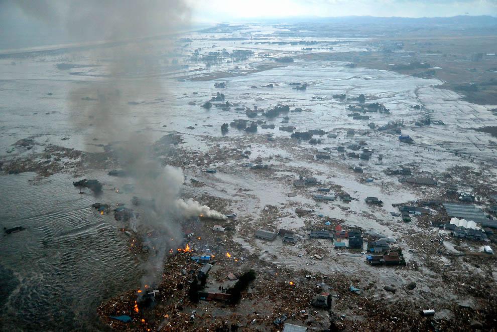 364 tsunami dan konsekuensi lain dari gempa di Jepang