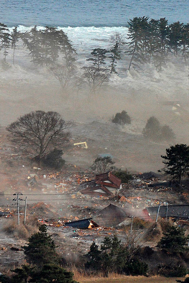 374 tsunami dan konsekuensi lain dari gempa di Jepang