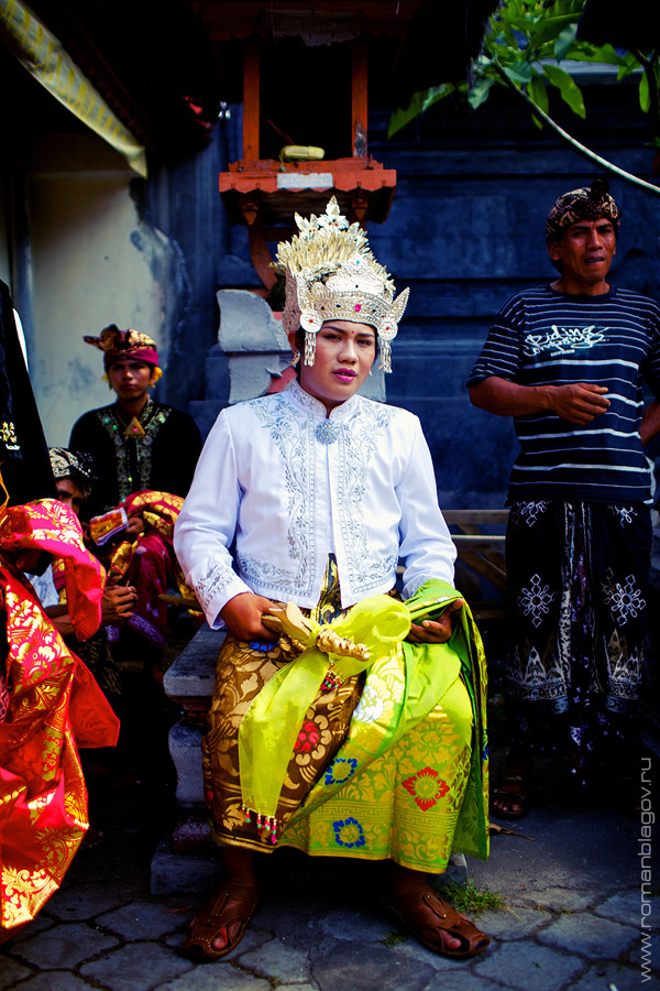Настоящая балийская свадьба