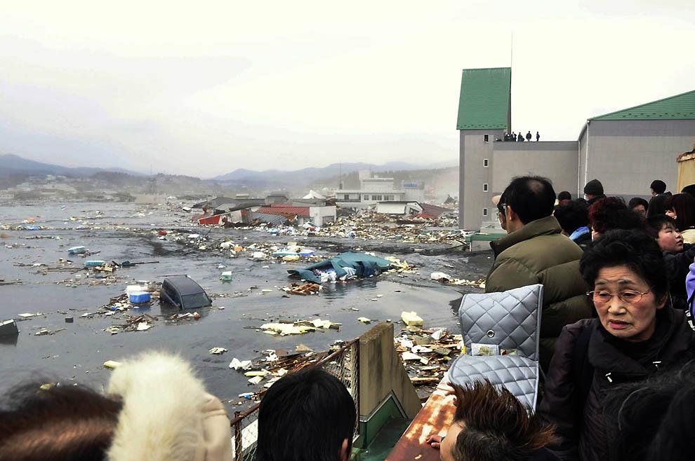 384 tsunami dan konsekuensi lain dari gempa di Jepang
