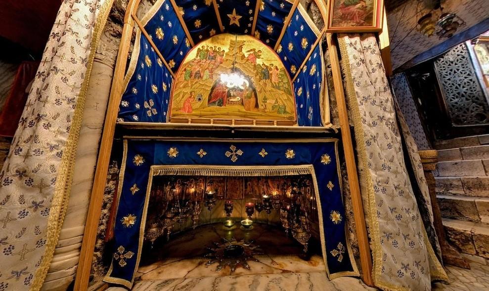 Храм Рождества Христова в Вифлееме Фото Базилика с описанием история