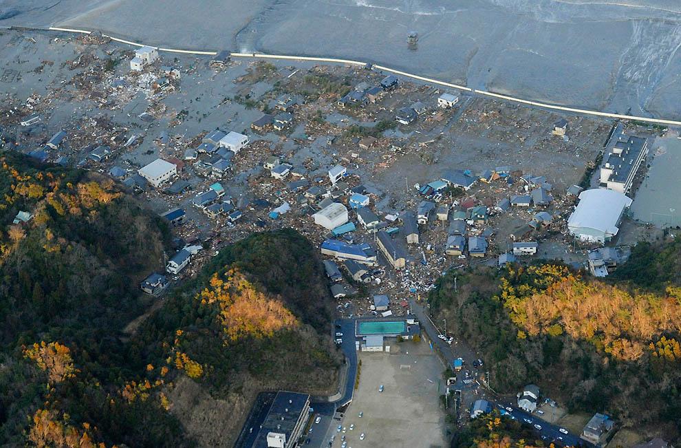 394 tsunami dan konsekuensi lain dari gempa di Jepang