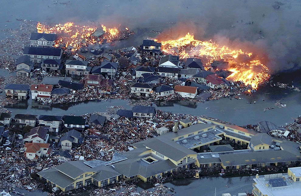 403 tsunami dan konsekuensi lain dari gempa di Jepang