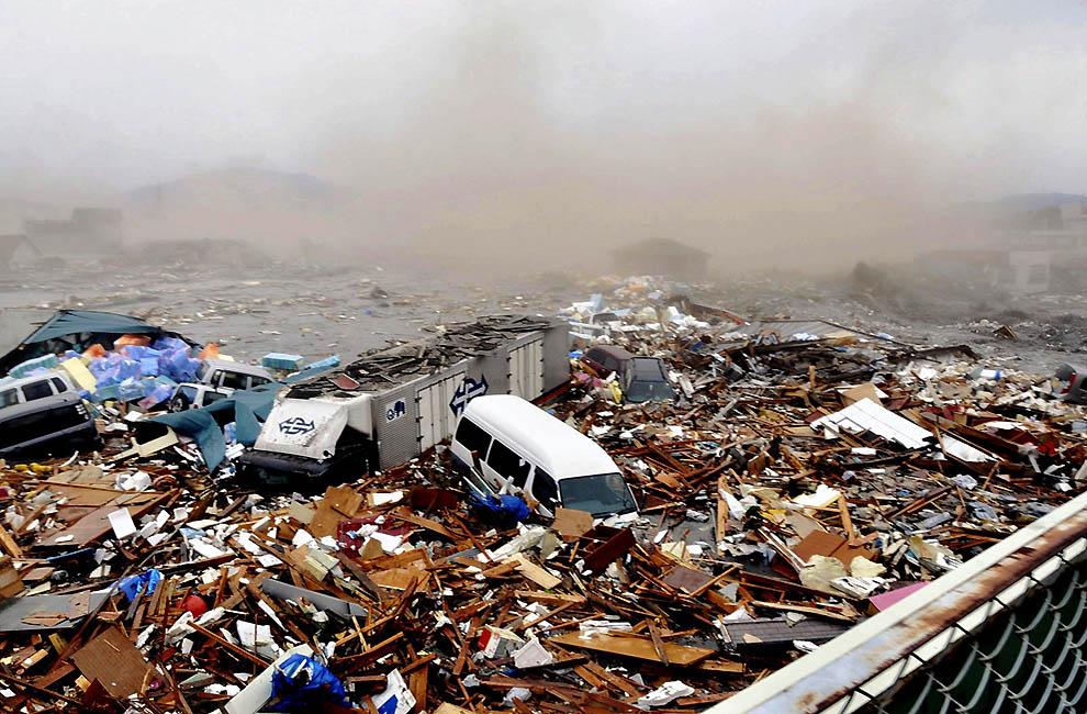 4110 tsunami dan konsekuensi lain dari gempa di Jepang