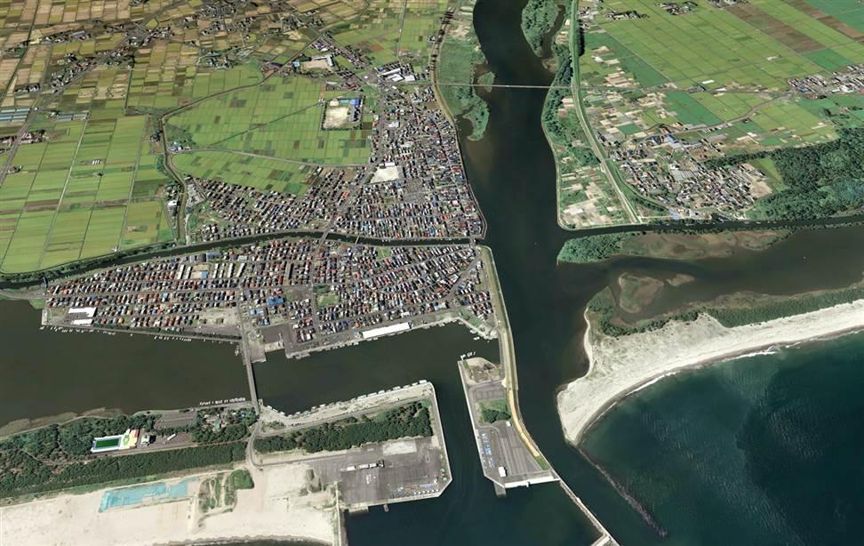 4111 Снимки со спутника: До и после землетрясения в Японии