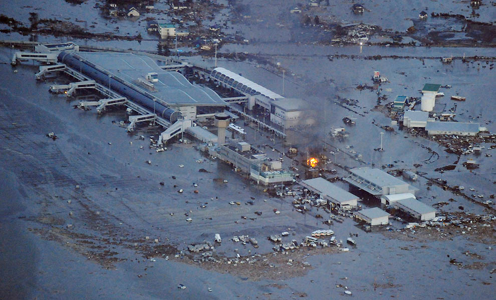 452 tsunami dan konsekuensi lain dari gempa di Jepang