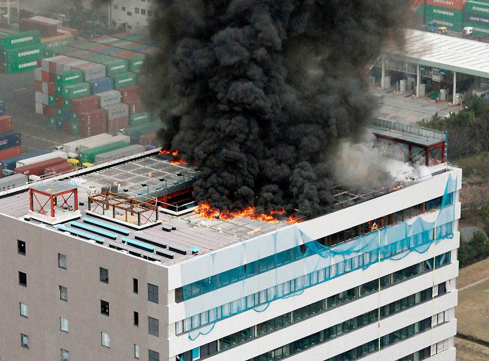 462 tsunami dan konsekuensi lain dari gempa di Jepang