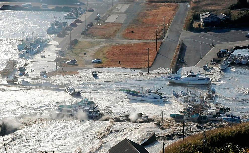 491 tsunami dan konsekuensi lain dari gempa di Jepang