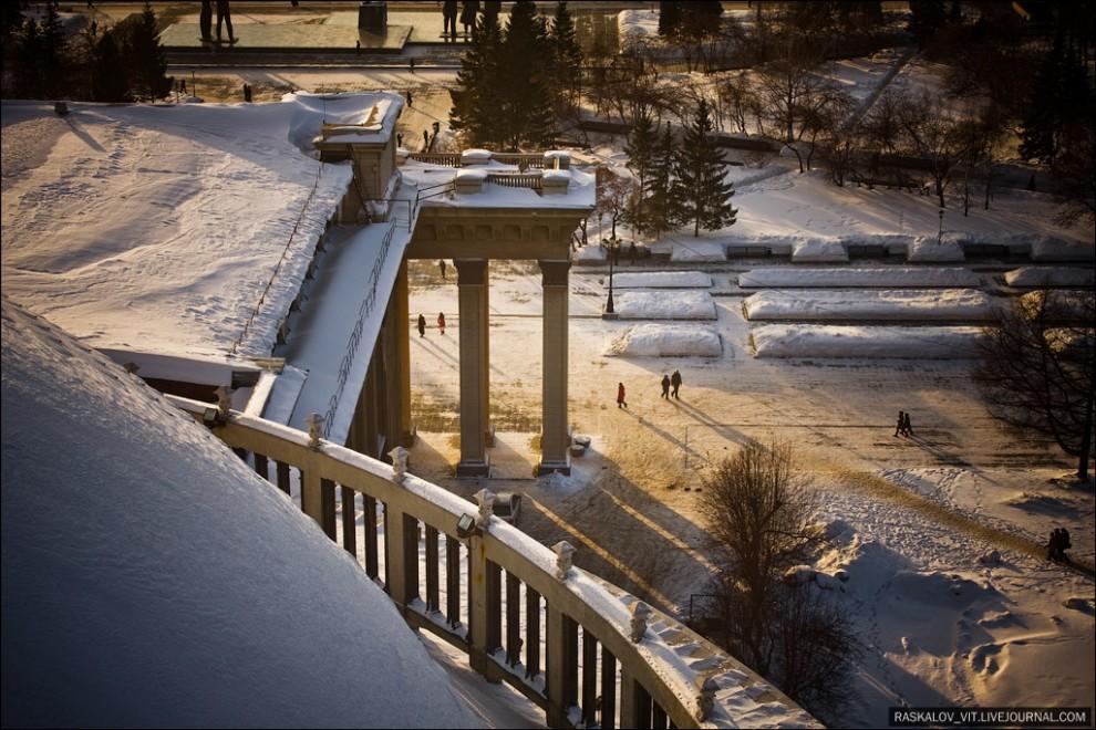 Новосибирск с невозможных ракурсов