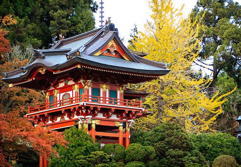 520 японский чайный сад в сан франциско
