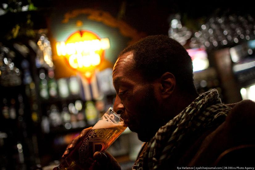 Интервью с необычным пьяницей