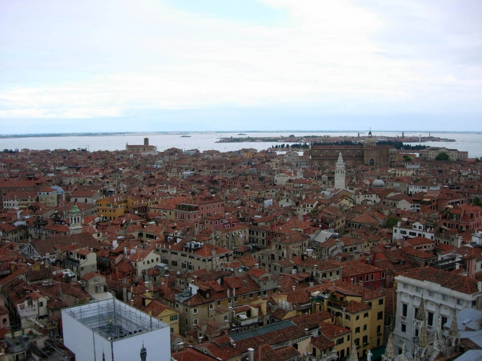 14 990x742 Veneza vista aérea