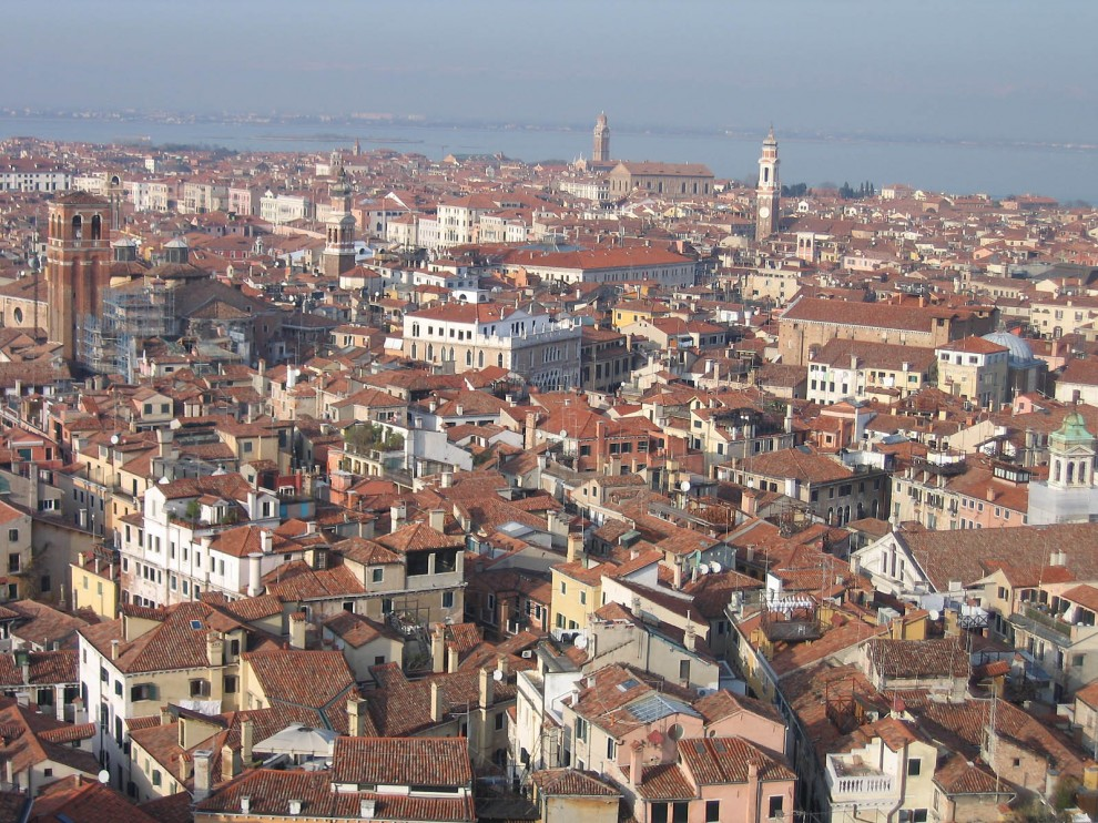 17 990x742 Veneza vista aérea