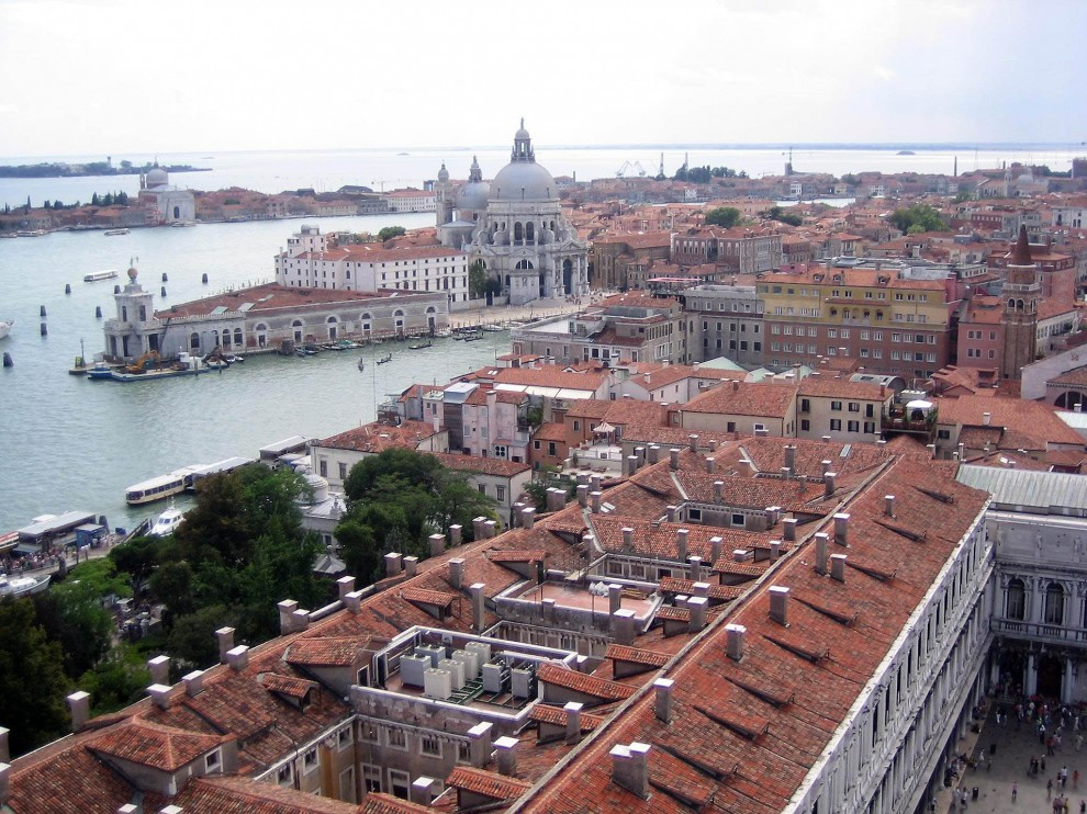 19 990x742 Veneza vista aérea