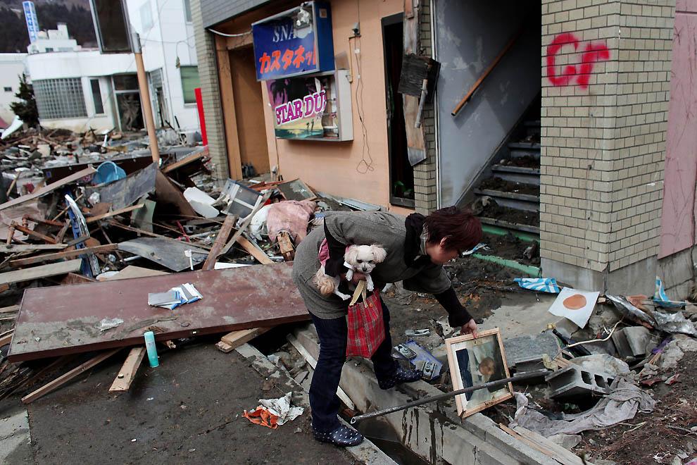图说灾害现场:东日本地震及海啸 - 银河 - 银河@生存主义唱诗班