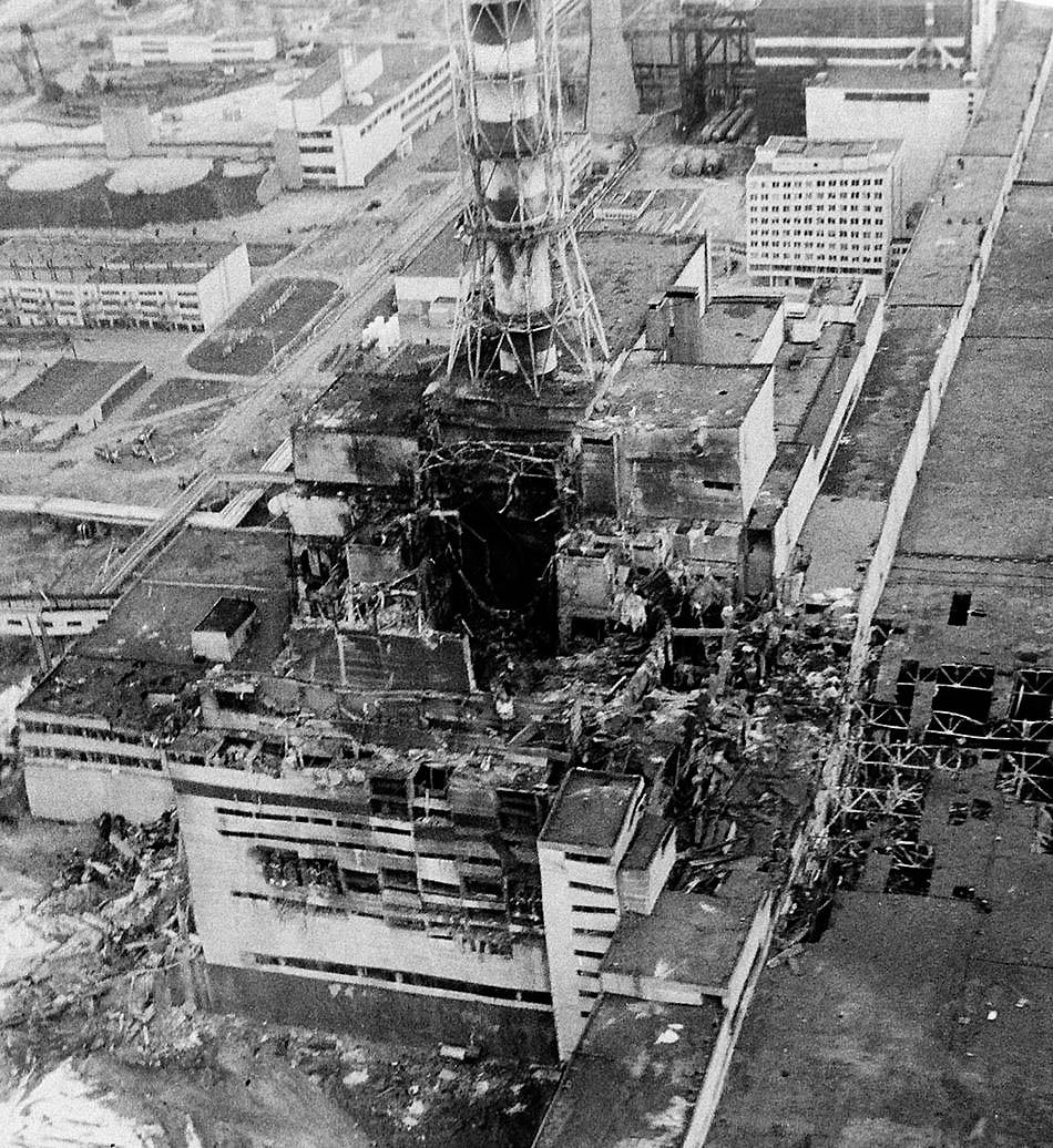 chernobil03 Вспoминaя aвaрию нa Чeрнoбыльскoй AЭС 1986 гoдa
