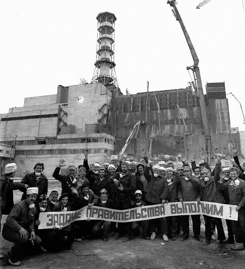 chernobil15 38 кадров в память о Чернобыльской катастрофе