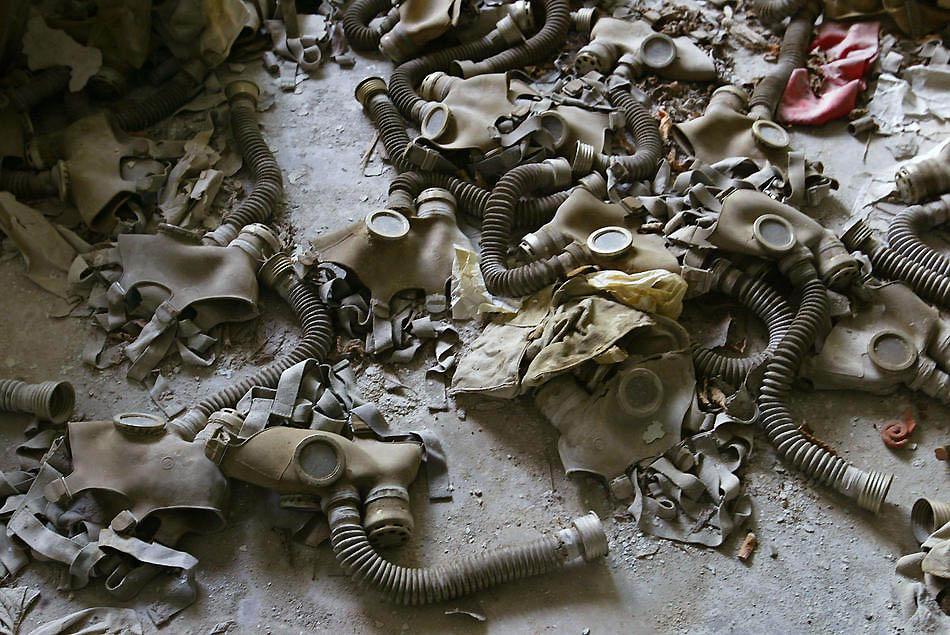 chernobil21 38 кадров в память о Чернобыльской катастрофе