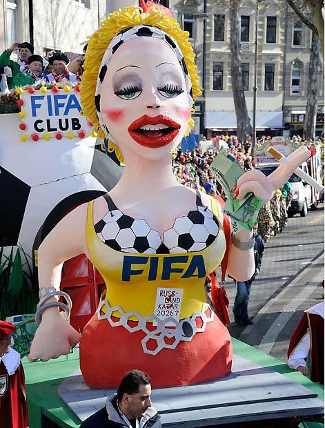 fifa 1842479i Политическая сатира на немецких карнавалах (Часть 2)