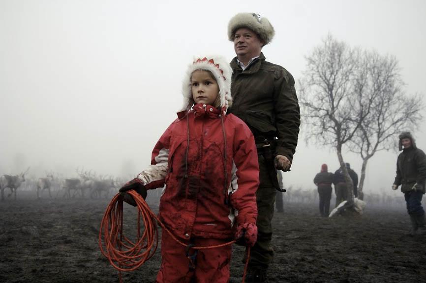 Оленеводы Финляндии • НОВОСТИ В ФОТОГРАФИЯХ