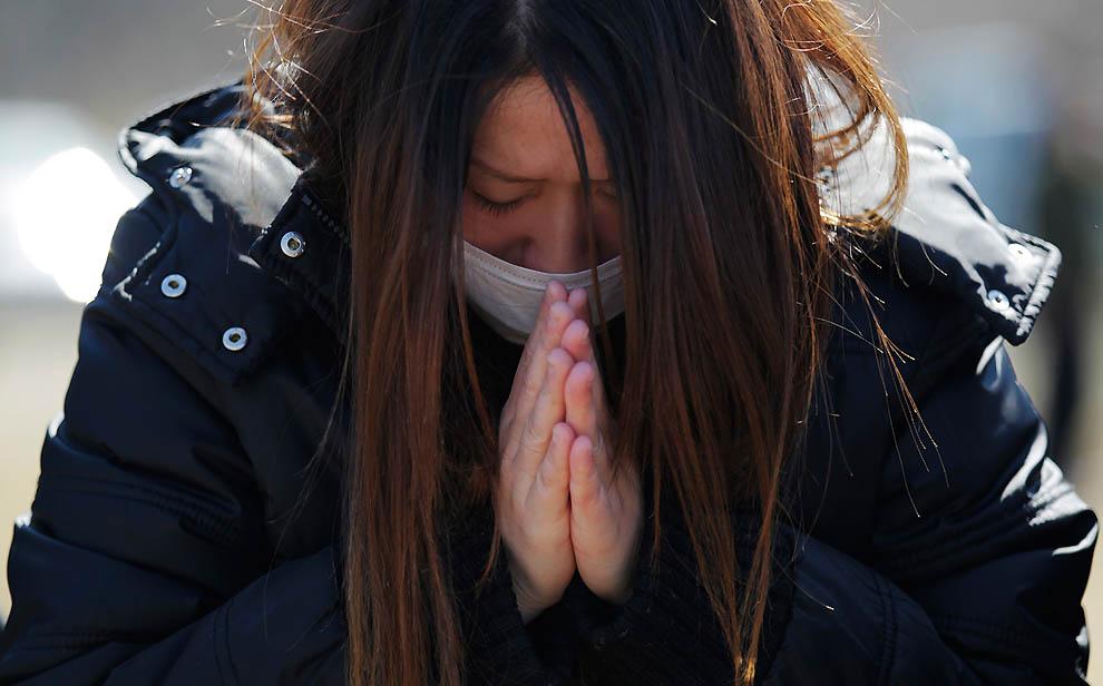 j01 RTR2KBE5 Япония: через две недели после землетрясения