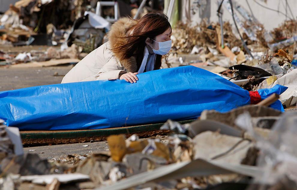 j25 31919789 Япония: через две недели после землетрясения