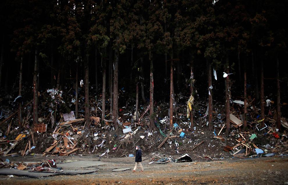j36 RTR2K8VW Япония: через две недели после землетрясения