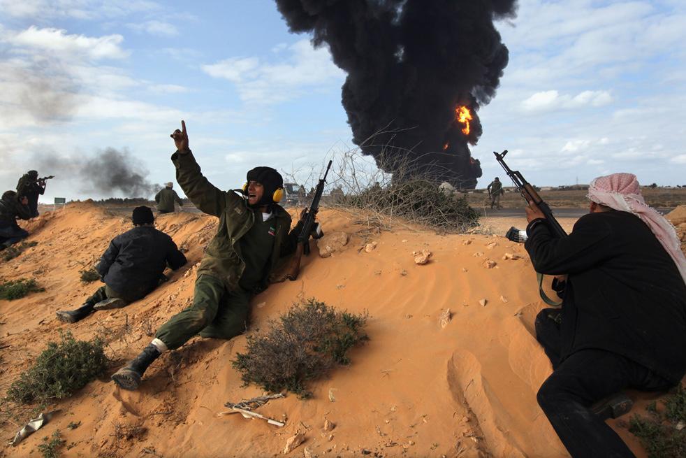 libya rf Война в Ливии: Бои за Рас Лануф