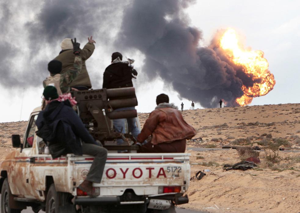 libya rh Война в Ливии: Бои за Рас Лануф