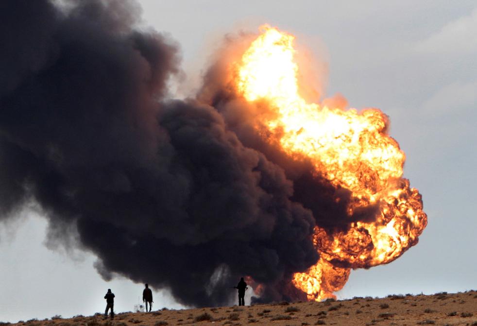 libya ri Война в Ливии: Бои за Рас Лануф