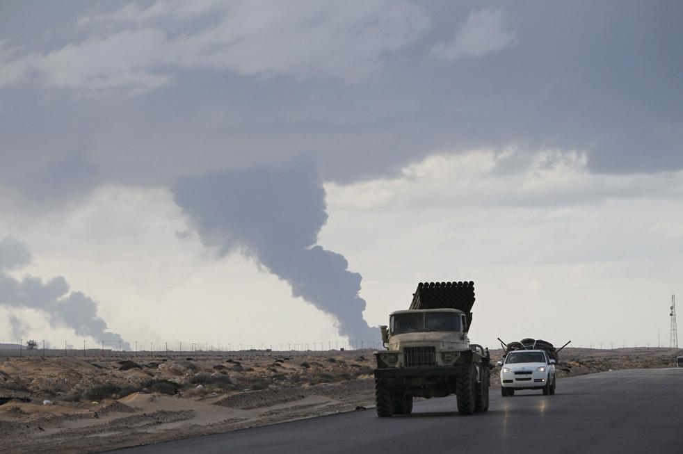 libya rn Война в Ливии: Бои за Рас Лануф