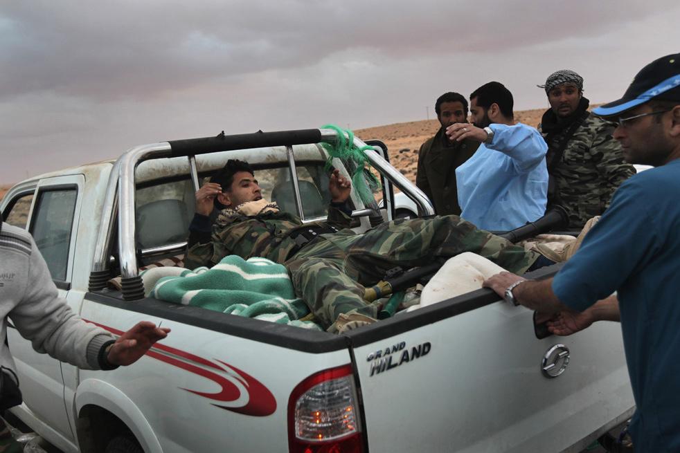 libya rv Война в Ливии: Бои за Рас Лануф