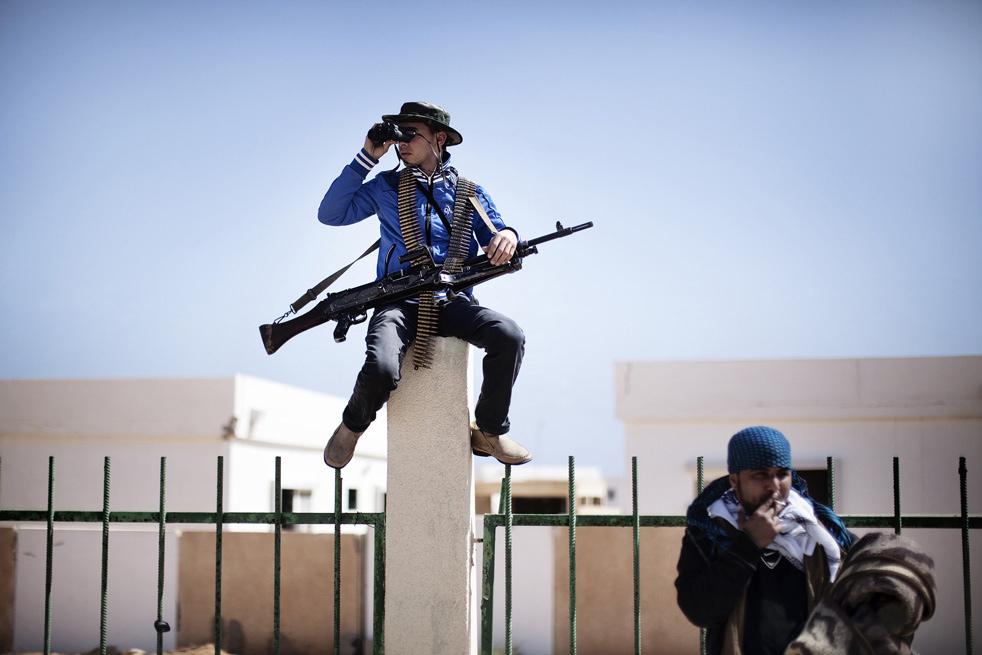 libya s1 Война в Ливии: Бои за Рас Лануф