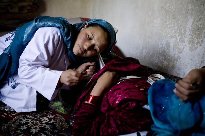 bidan midwife04 Sadiq Afghanistan