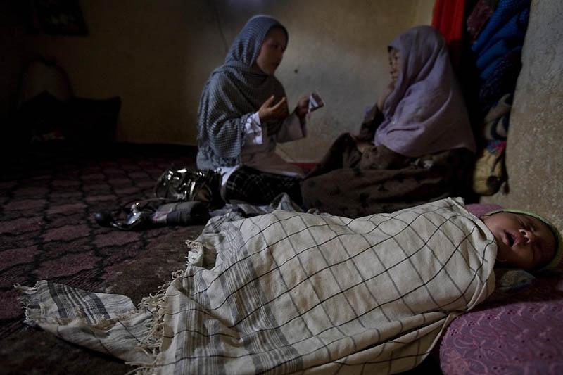 bidan midwife05 Sadiq Afghanistan