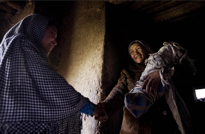 bidan midwife06 Sadiq Afghanistan