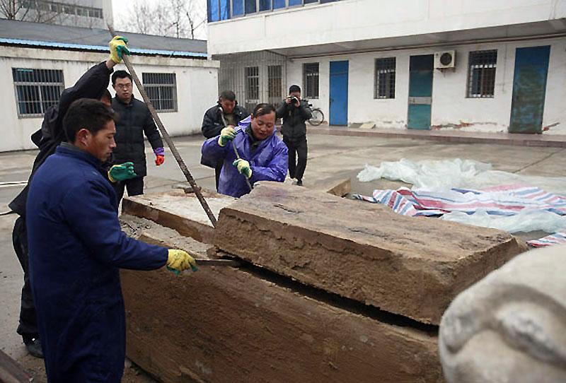 mummy02 В Китае строители нашли мумию
