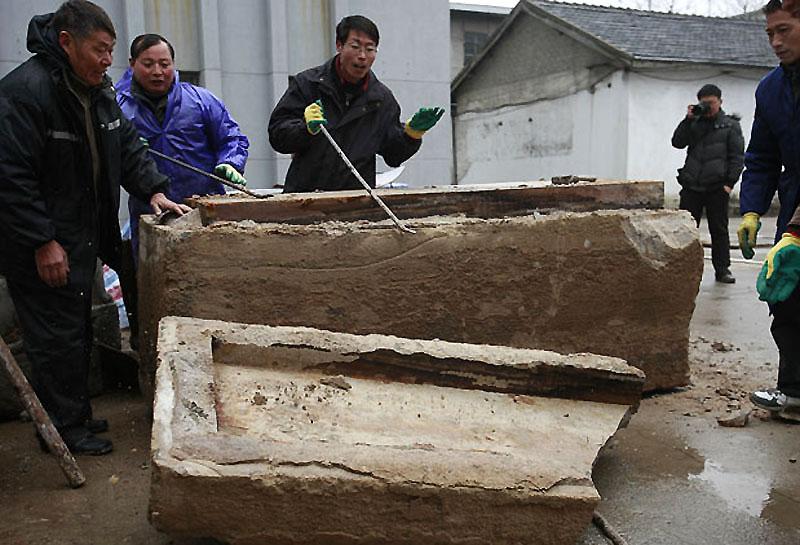 mummy03 В Китае строители нашли мумию
